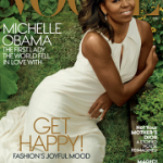 Farewell To FLOTUS: Michelle Obama Covers The December 2016 Issue Of Vogue Magazine