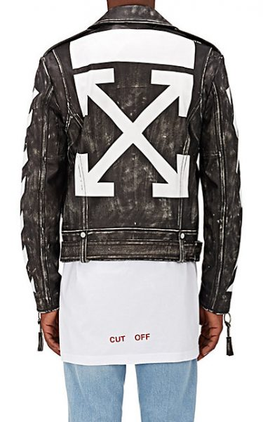 0ce232f5e154 A Boogie Rocks An OFF-WHITE C O Virgil Abloh Men s Distressed ...