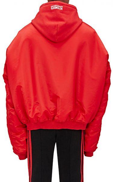 8f84ae7bb Fall Outerwear: DJ Boof Sports A Vetements Men's Tech-Twill ...