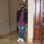 NBA Style: DeMarcus Cousins Dressed In A Gucci Bee Appliqué Wool Jacket & Mike Amiri Jeans