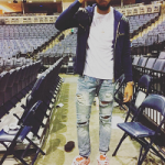 Celebs Style: Karl Towns And Fat Joe Spotted In A Balmain Zipped Up Hoodie
