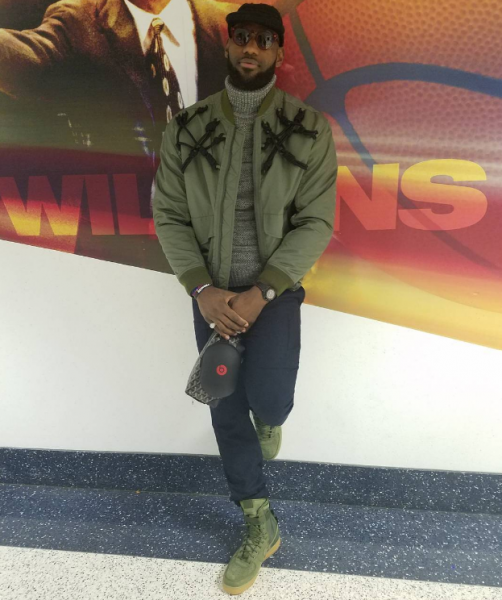 NBA Style: LeBron James In A 3.1 Phillip Lim Knotted Harness