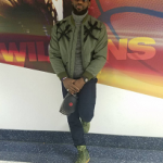 NBA Style: LeBron James In A 3.1 Phillip Lim Knotted Harness Bomber Jacket & Nike SF AF1 Urban Utility Air Force 1 Faded Olive Sneakers