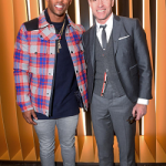 NFL Player Victor Cruz Spotted In A $2,515 Moncler Grenoble 'Carcans' Padded Jacket