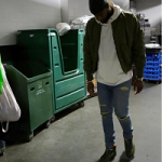 NBA Player DeMarcus Cousins Rocks A Daniel Patrick Hero Bomber IV Jacket
