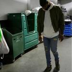 NBA Player DeMarcus Cousins Rocks A Daniel Patrick Hero Bomber IV Jacket