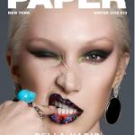 Fashion Model Bella Hadid Covers Paper Magazine's Winter '16 Issue