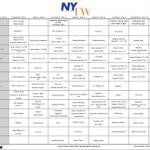 NYFW Women's Schedule Is Released!