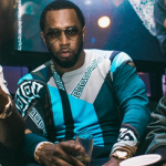 Puff Daddy Spotted In A $437 Versace Collection Men's Silk Blend Sweater