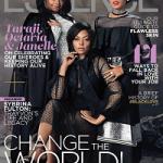 Octavia Spencer, Taraji  Henson & Janelle Monáe Cover The February 2017 Issue Of ESSENCE Magazine