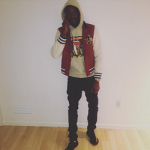 Meek Mill Shows Off His $3,750 Gucci Leather And Felt Bomber With Embroideries