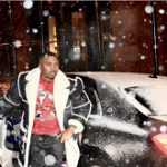 NYC Snowstorm: Nas Wears A Few Sheepskin Shearling Coats From Daniel's Leather