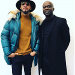 Swizz Beatz Spotted In A $6,295 Bally Bright Teal Down Parka
