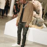 Travis Scott Draped In Saint Laurent At W Magazine x YSL Dinner At Art Basel 2016