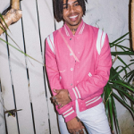 Vic Mensa Styles In A $2,550 Saint Laurent Classic Teddy Varsity Jacket