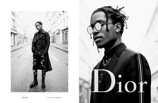 c901747ddf6 A AP Rocky Is The Face Of Dior Homme s Spring Summer 2017 Campaign ...