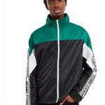 Lookbook: Model Alton Mason For Opening Ceremony's Nylon Twill Logo Jacket