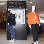 Travis Scott Visits Barneys New York To Debut His Helmut Lang Men's Capsule Collection