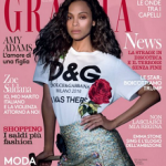 Zoe Saldana Covers Grazia Italia January 2017