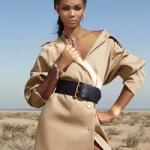 American Fashion Model Chanel Iman For The January 2017 Issue Of Emirates Woman