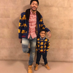 Stylin On Them: Derrick Rose Wears A Gucci Wool Bear Cardigan With Mink Collar, Balmain Jeans & Timberland Boots