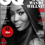Iconic Fashion Model Naomi Campbell Covers The February 2017 Issue Of GQ Germany