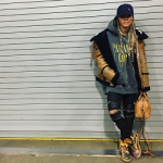 Teyana Taylor Styles In Balenciaga And Saint Laurent
