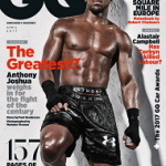 Boxer Anthony Joshua Covers The April 2017 Issue Of British GQ