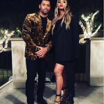 Ciara Slips Into A Margiela Dress & Tom Ford Strappy Leather Ankle-Cuff Sandals