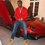 Gucci Mane Poses In A Gucci 'GucciGhost' Print Sweatshirt & 'Marland' Plain Toe Boots