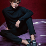 Model Jordan Barrett Stars In Giuseppe Zanotti's Spring/Summer 2017 Campaign