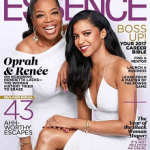 Oprah Winfrey & Renée Elise Goldsberry Cover ESSENCE's April 2017 Issue