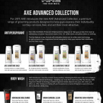 Men's Grooming Products: Advanced Collection For AXE [Part 1]