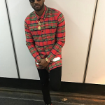 NBA Player John Wall Wears An Off-White C/O Virgil Abloh Spray Effect Check Print Shirt