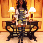 Stylin On Em: Remy Ma Draped In Moschino