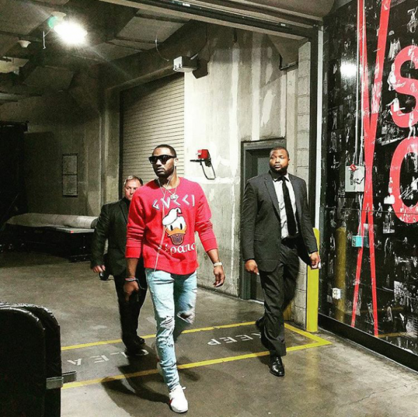 284561c03e0 NBA Fashion  John Wall And Serge Ibaka Style In Gucci ...