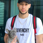 NBA Style: Ben Simmons Givenchy Distressed Tee-Shirt