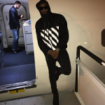 Are You Feelin it? John Wall Wears An Off White Windbreaker Jacket & Nike Air Yeezy 2 Sneakers