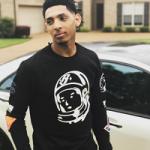 NBA Style: Cameron Payne Styles In A Billionaire Boys Club 'BB Master Crew' Sweatshirt