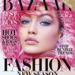 Gigi Hadid Covers Harper's Bazaar; Styles In Prada, Chanel, Saint Laurent, Dolce & Gabbana, And Stuart Weitzman