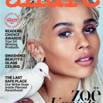 Zoë Kravitz Is Allure's June 2017 Cover Star; Styles In Gucci, YSL, Simone Rocha, Dior & More