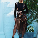 #BalmainTakesLA: Monica Brown Wears An Ensemble From Balmain's Pre-Fall & Fall Ready-To-Wear 2017 Collections