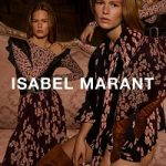Anna Ewers Fronts Isabel Marant Fall/Winter 2017 Campaign