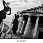 Balmain's Creative Director Olivier Rousteing Shot The Brand's Fall/Winter 2017 Campaign