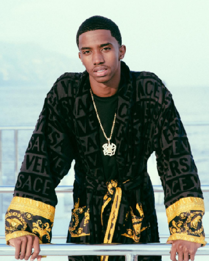 Fashion In Italy: Christian Combs Posed In A Versace 'I ...