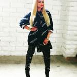 R&B/Soul Singer Faith Evans Draped In Balenciaga