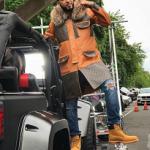 French Montana Rocked An Alpo Martinez x Dapper Dan Inspired Customized Louis Vuitton Snorkel Jacket