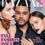 Adriana Lima, The Weeknd & Irina Shayk Nabbed The September 2017 Issue Of Harper's Bazaar