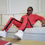 Stylish Rapper Future Wears A Fear Of God Tracksuit & Balenciaga Sneakers