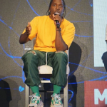 Pusha T Spotted Wearing Advisory Board Crystals And Balenciaga In Miami